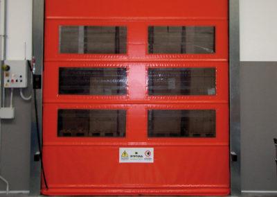 1 - Porta rapida ad avvolgimento SAETTA - Giallo RAL 1003 - 02 (5)