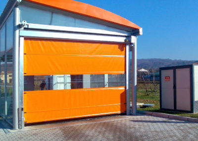 1 - Porta rapida ad avvolgimento SAETTA - Giallo RAL 1003 - 02 (6)