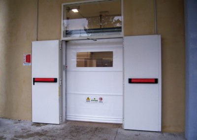 1 - Porta rapida ad avvolgimento SAETTA - Giallo RAL 1003 - 02 (7)