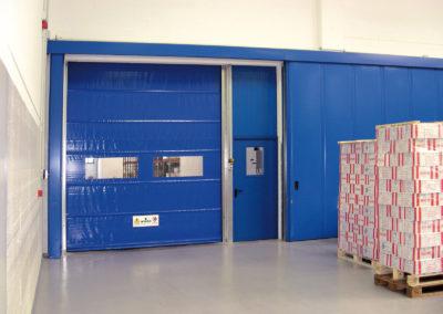 1 - Porta rapida ad avvolgimento SAETTA - Giallo RAL 1003 - 02 (8)