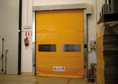 1 - Porta rapida ad avvolgimento SAETTA - Giallo RAL 1003 - 02 (9)