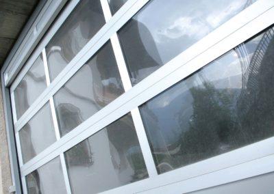 1 - Portone sezionale vetrato LUXOR - Ossidato naturale con tamponamento - 04 (24)