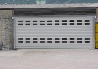 Porta rapida ad impacchettamento FULMINE - Grigio RAL 9006