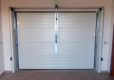 Portone basculante da garage SWING - Vista interna