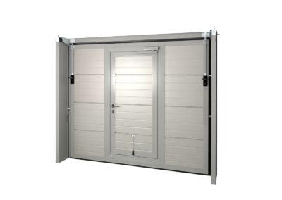 Portone basculante da garage SWING - Vista interna porta peodnale