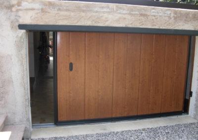 Portone sezionale laterale PHENIX - Simil legno quercia - 01 (10)